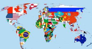 صور كم عدد دول العالم , معلومات عن دول العالم