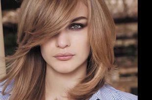 صورة احدث قصات الشعر الطويل , جمال النساء الحقيقي في شعرها وهذه تسريحات في قمة الروعة