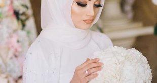 صور صور عرايس محجبات , حجابك يوم عرسك يزيد من جمالك وتميزك