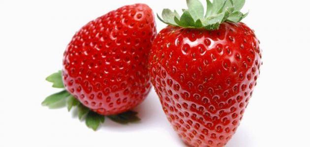 صورة فوائد الفراولة , من اشهى الفواكه وبها فيتامينات مهمة