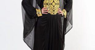 صورة عبايات سعودية , اشيك عبايات الخروج النسائية الجديدة لاجمل سعوديات