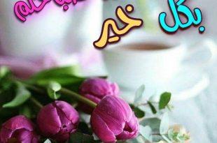 صورة صور صباح ومساء الخير , اسعد من تحب وصح ومسي باجمل صور