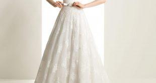 صور فساتين زفاف بسيطة , تالقي في ليلة زفافك باجمل واشيك ديزين لفستان ناعم