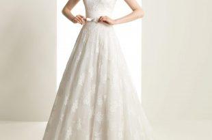 صورة فساتين زفاف بسيطة , تالقي في ليلة زفافك باجمل واشيك ديزين لفستان ناعم