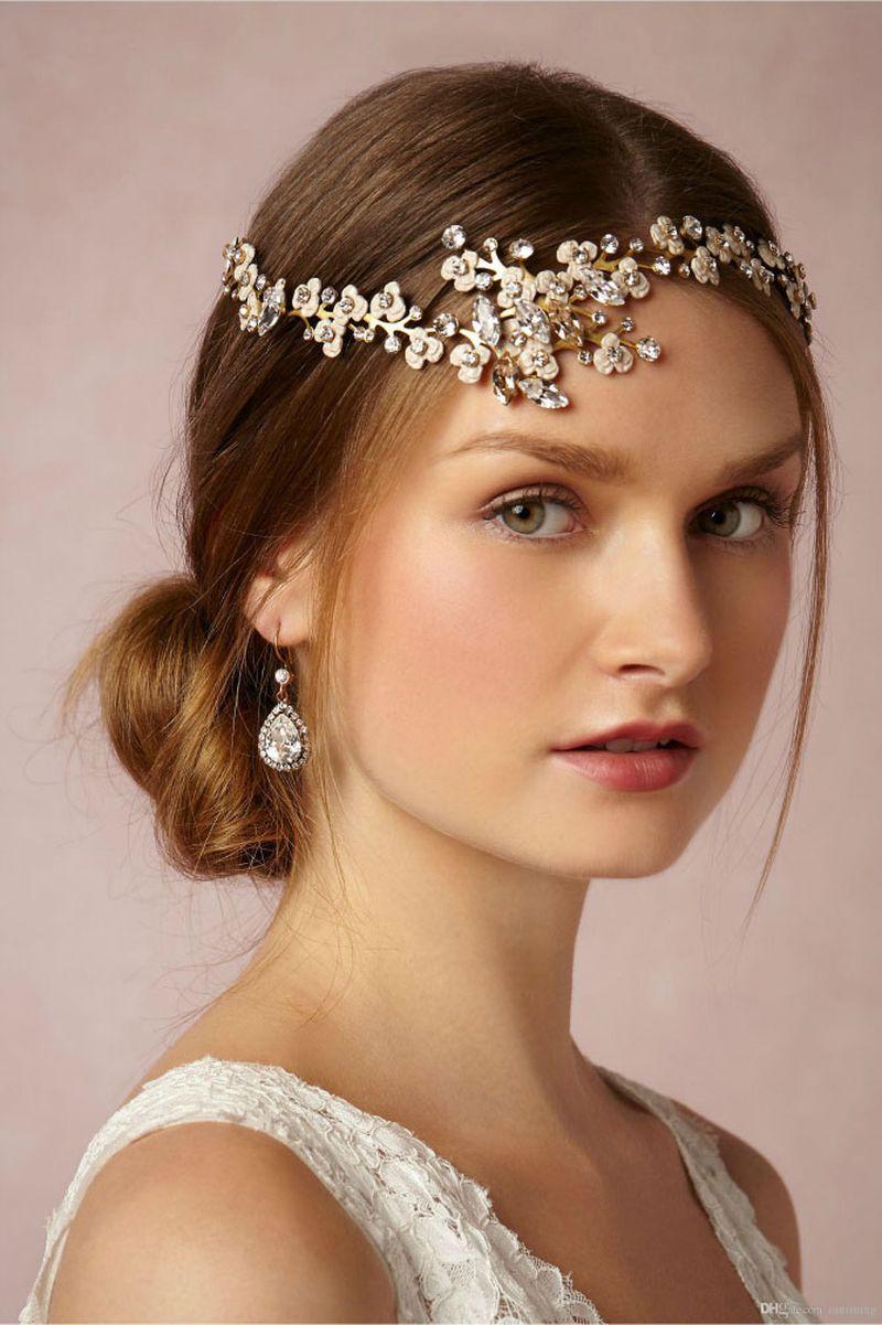 صورة تسريحات الشعر للعرائس , اجمل تصفيفات شعر لعروس متالقة