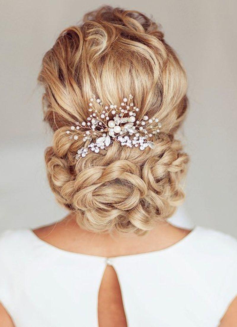صور تسريحات الشعر للعرائس , اجمل تصفيفات شعر لعروس متالقة