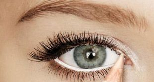 صور طريقة تكبير العيون , عين واسعة كعيون المها بمكياج بسيط