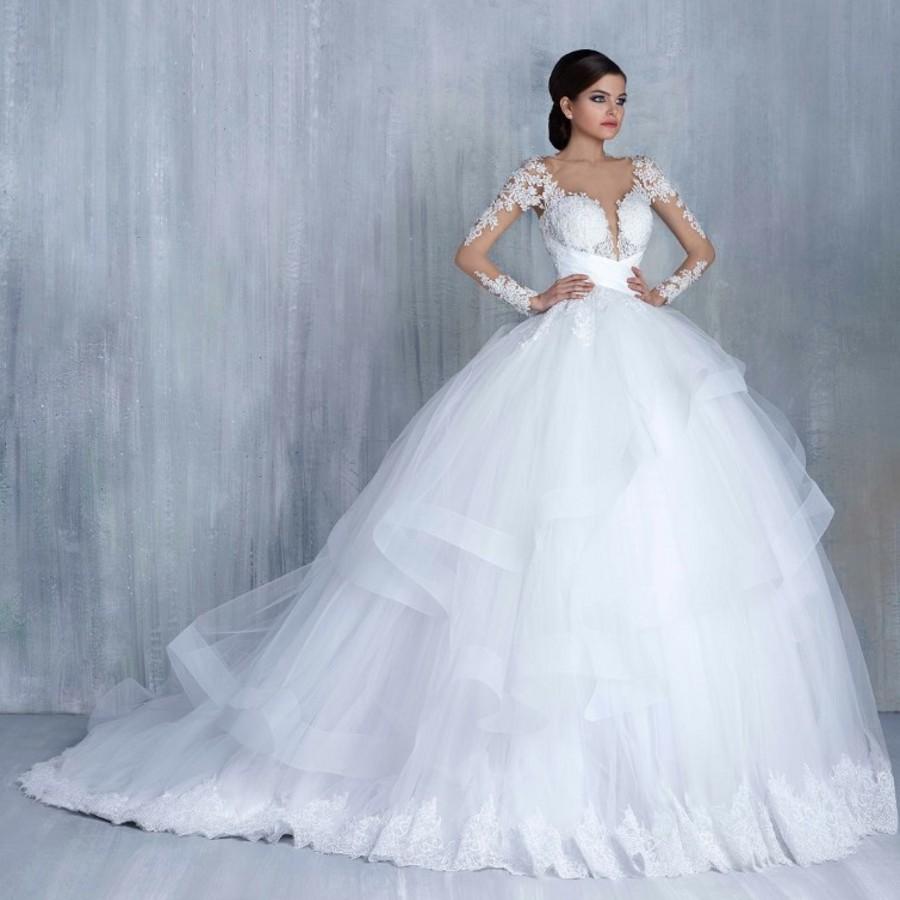 صورة صور فساتين عرس , احدث موديلات ثوب الزفاف
