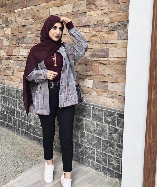 صور ازياء محجبات 2019 , موضة ملابس 2019 لنساء بالحجاب