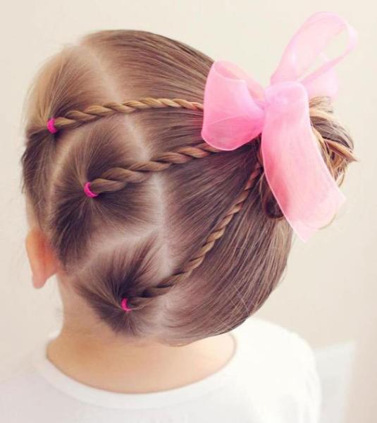 صورة تساريح بنات , تصفيفات شعر للفتيات