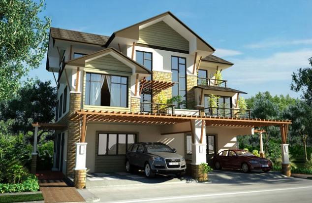 صورة تصاميم منازل , احدث اشكال البيوت العصريه