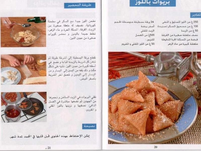 صورة وصفات حلويات مصورة , صور طرق اعداد حلا 212 7