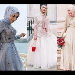 فساتين سهرة 2019 للمحجبات , فاشونيستا سواريهات بالحجاب