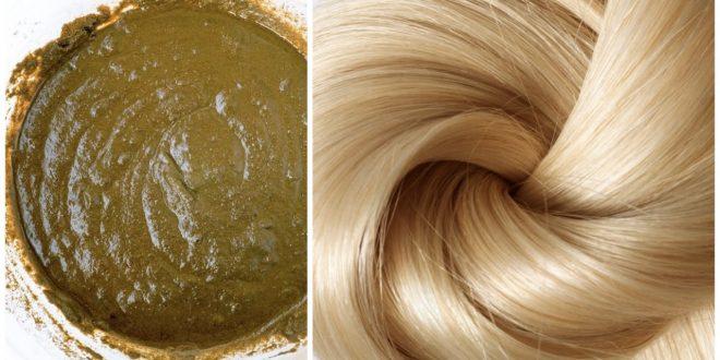 صورة حنة الشعر , اجمل الوان خلطات الحناء