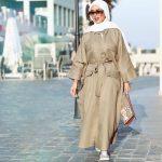 ملابس خروج للبنات المحجبات , موضة ثياب لنساء بالحجاب 2019