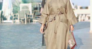 صور ملابس خروج للبنات المحجبات , موضة ثياب لنساء بالحجاب 2019