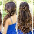 تسريحات بسيطة للشعر الطويل , احدث تصفيفات لصاحبات الشعر الطويل