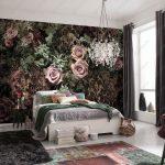 ورق حائط لغرف النوم , صور ارقى ديكورات ورق الحائط