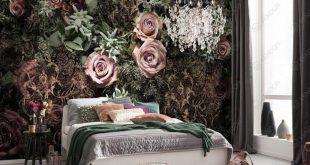 صور ورق حائط لغرف النوم , صور ارقى ديكورات ورق الحائط