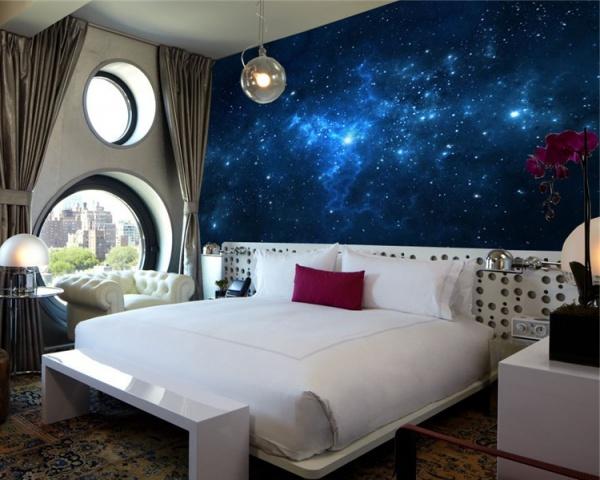 صورة ورق حائط لغرف النوم , صور ارقى ديكورات ورق الحائط 12995 5