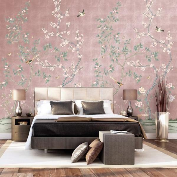 صورة ورق حائط لغرف النوم , صور ارقى ديكورات ورق الحائط 12995 6