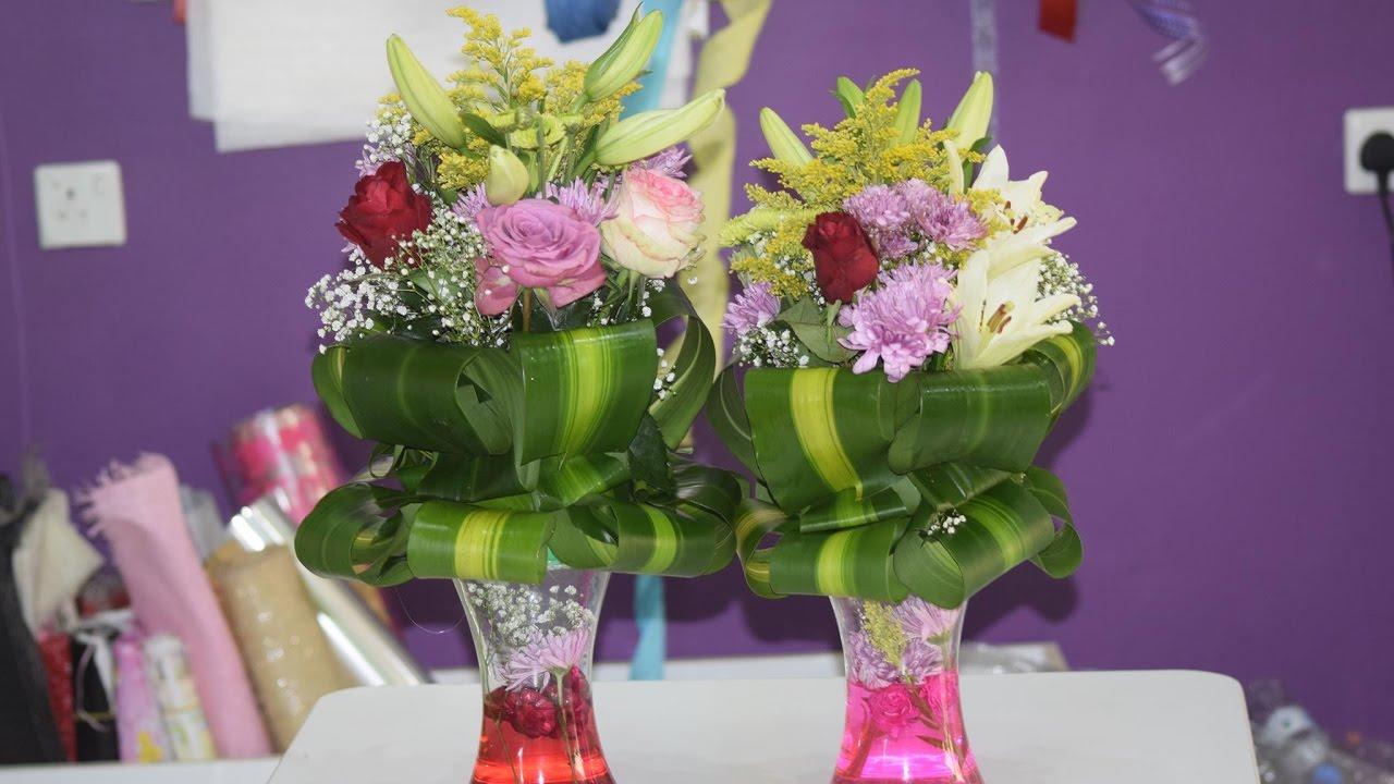 صورة تنسيقات زهور طبيعية , قواعد لعمل بوكيه ورد ياخد العقل 12868 3