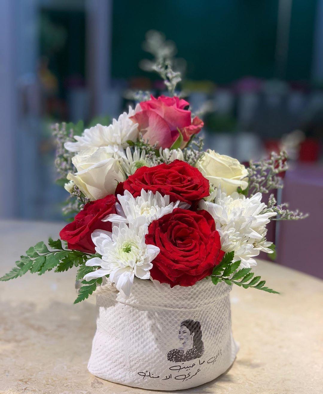 صورة تنسيقات زهور طبيعية , قواعد لعمل بوكيه ورد ياخد العقل 12868 4