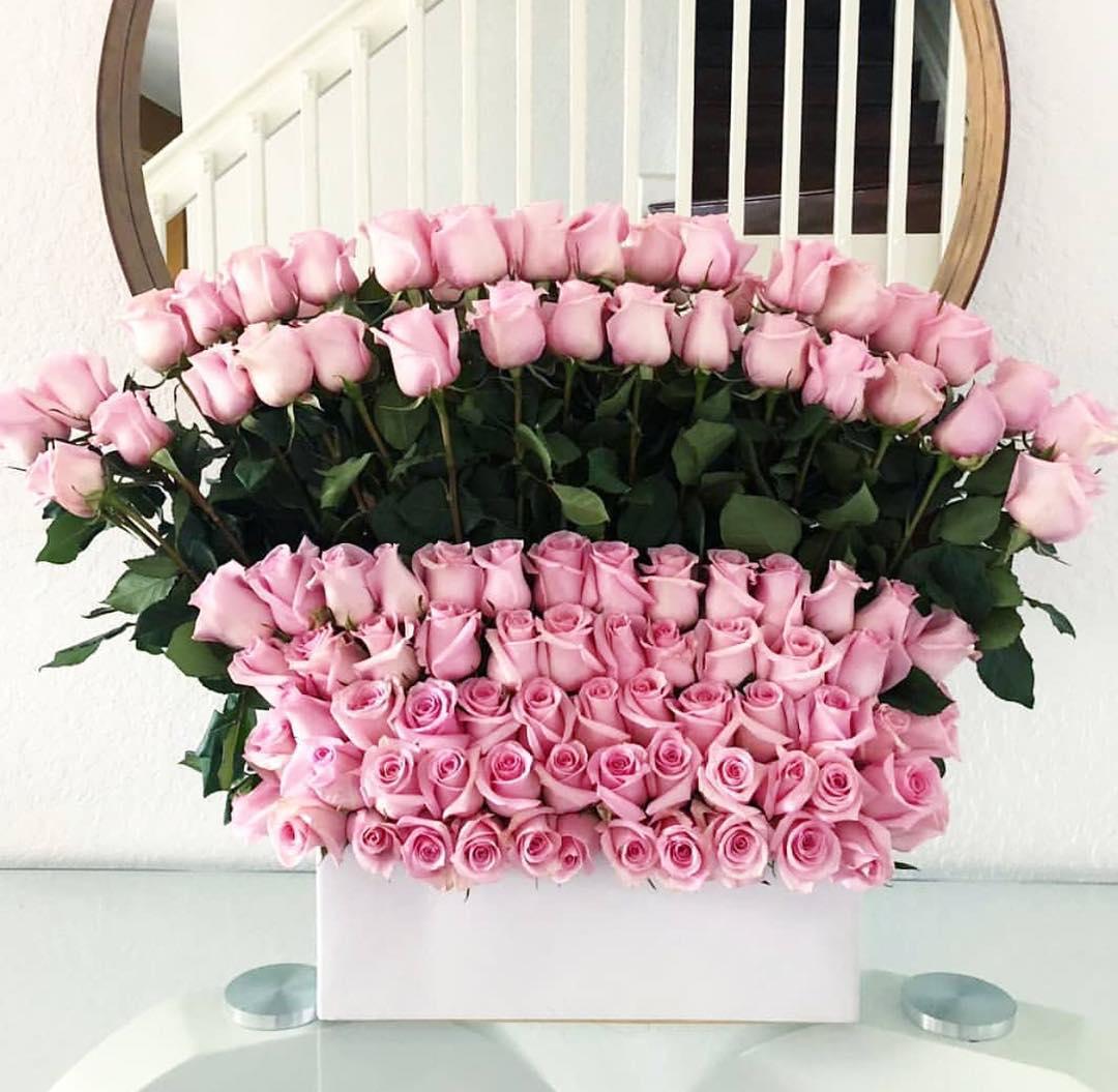 صورة تنسيقات زهور طبيعية , قواعد لعمل بوكيه ورد ياخد العقل 12868 5