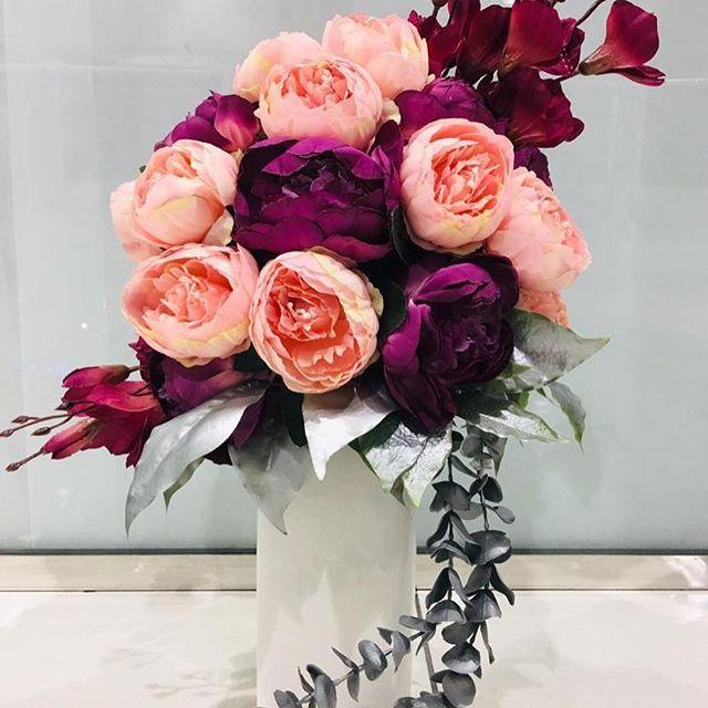 صورة تنسيقات زهور طبيعية , قواعد لعمل بوكيه ورد ياخد العقل 12868 9