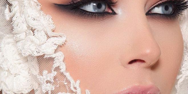 صور اجمل مكياج العرايس , كونى كالاميرات بيوم زفافك
