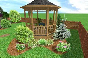 صورة تصميم حديقة منزل بسيطة , الراحه النفسيه في بيتنا
