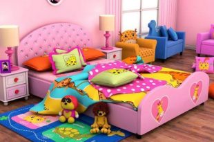 صورة سرير اطفال بنات , اشكال سراير بنات في منتهي الرقه