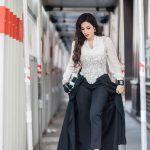 ملابس لجين عمران , اعلاميه جميله ولبسها علي الموضه