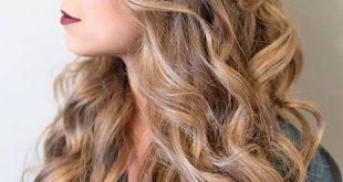 صورة تسريحات عصرية للشعر الطويل , اظهري جمال شعرك الطويل باروع التسريحات