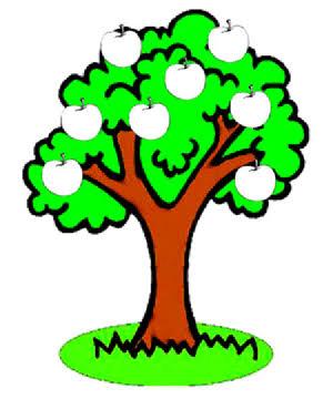 صورة صور رسومات اشجار , ارسم شجرة وازرع وردة