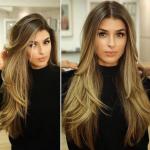 قصات شعر طويل 2019 , اخر صيحات الموضة للشعر الطويل