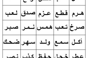 صورة كلمات عربية , لغتنا العربية الصحيحة 👇