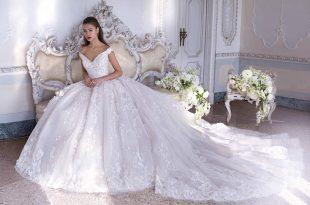 صورة فساتين زفاف , اجمل وارقي الموديلات في فساتين الزفاف