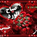 صباح الورد حبيبي , احلي واجمل صباح لعيون حبيبي ♥️