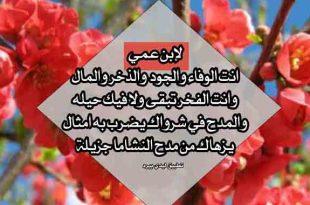 صورة ابن اخو ابويا , شعر مدح ولد العم
