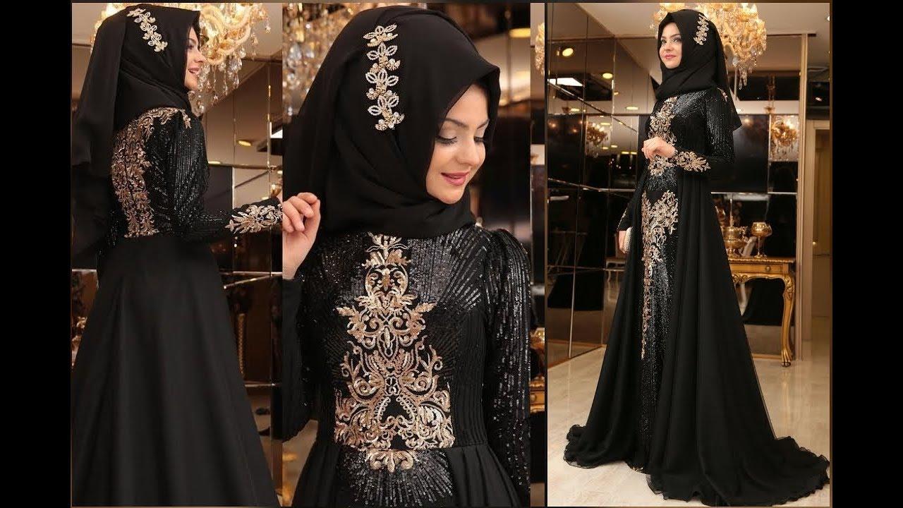 صورة ملابس سوداء للمحجبات 12336 1
