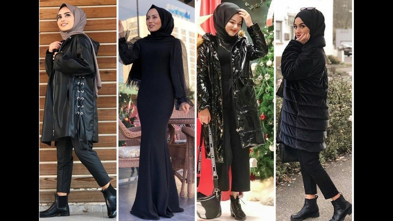 صورة ملابس سوداء للمحجبات 12336 3