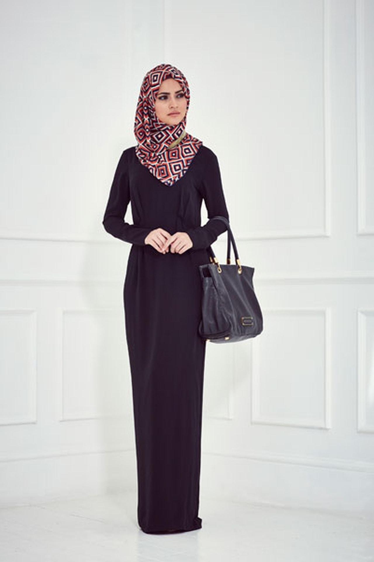 صورة ملابس سوداء للمحجبات 12336 6