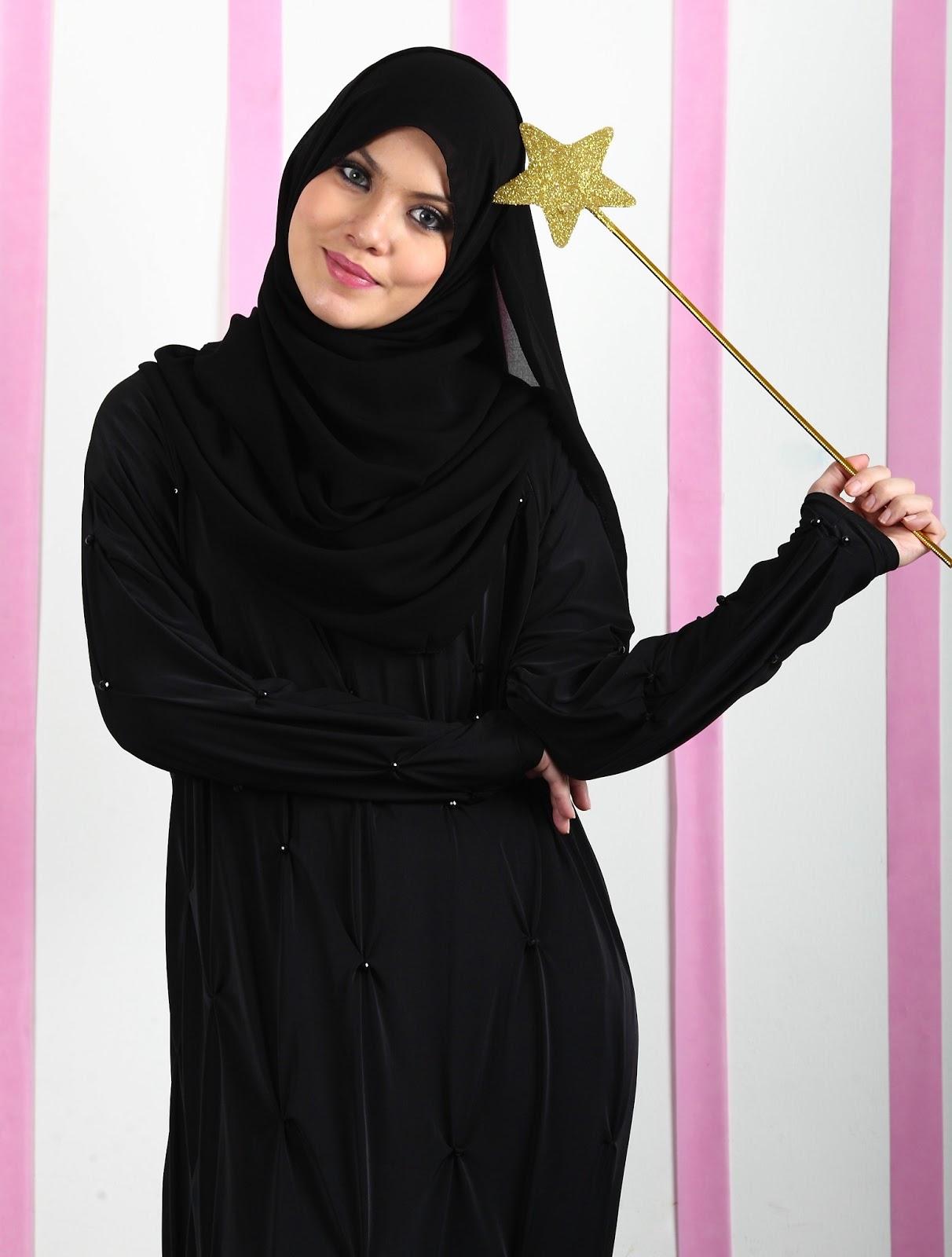 صورة ملابس سوداء للمحجبات 12336 7