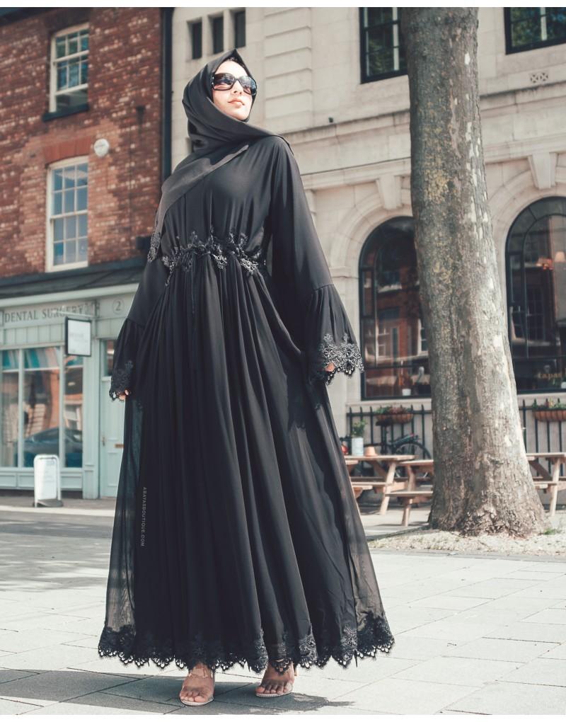صورة ملابس سوداء للمحجبات 12336 8