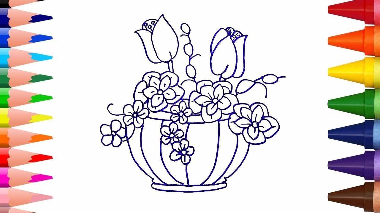 صورة تعلم الرسم الورود 12345 3
