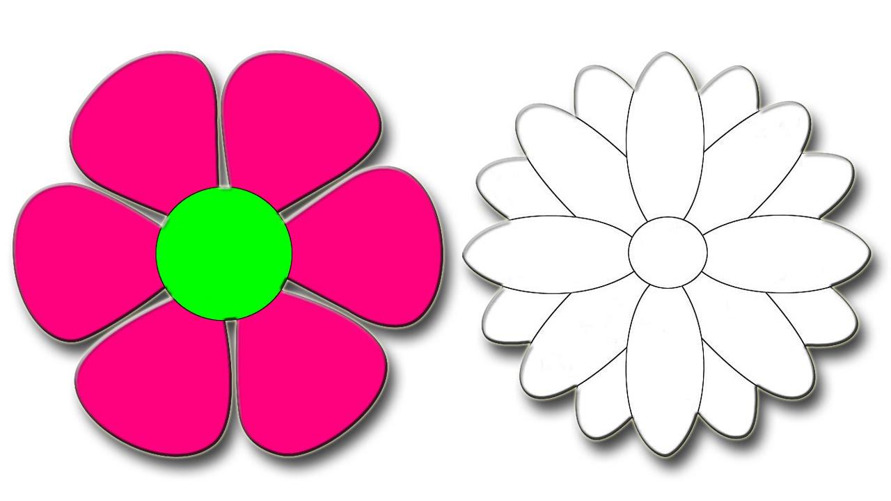 صورة تعلم الرسم الورود 12345 4